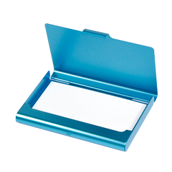 Business Card Case - lightblue 10mm